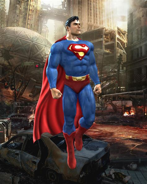 Superman Full HD Image for FB Cover - Cartoons Wallpapers