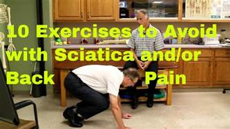 10 Exercises to Avoid With Sciatica (Bulging or Herniated