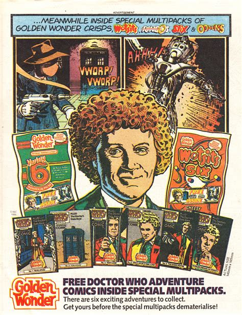 STARLOGGED - GEEK MEDIA AGAIN: 1986: DOCTOR WHO GOLDEN