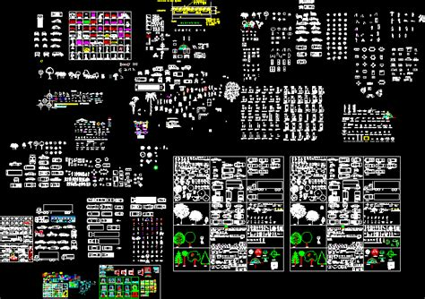 Several blocks in AutoCAD | Download CAD free (10