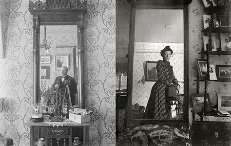 Mirror Self Portraits from the Early Days of Photography