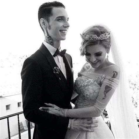 Beautiful picture of Andy and Juliet | Andy biersack