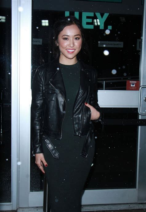LYRICA OKANO Arrives at Build Series in New York 12/15