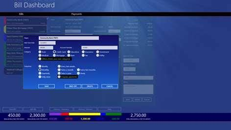 Bill Dashboard for Windows 10 - Free download and software
