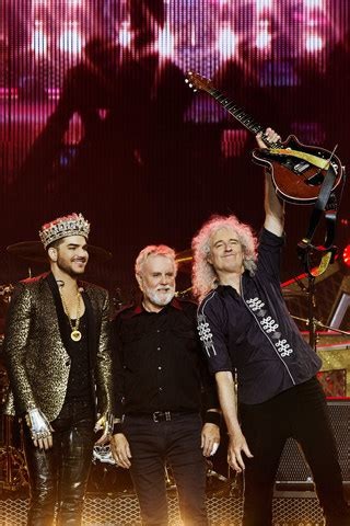 Queen Joins Forces With Adam Lambert For A North American