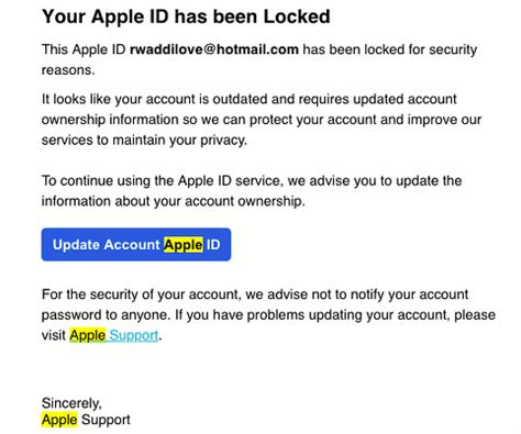 Don't get caught out by these Apple email scams   RAW Mac