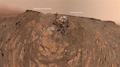 Curiosity rover's incredible March selfie marks new record