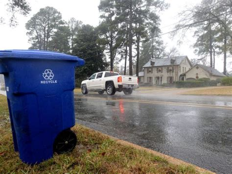 Shreveport's new recycling service reviewed