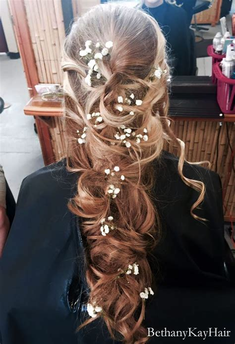 Prom hair styles - Updo's, long and straight, extensions