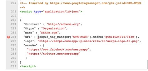 Using Google Tag Manager to Dynamically Generate Schema
