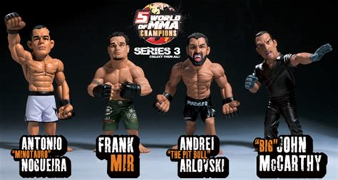 JAKKS Pacific and Round 5 MMA join forces for new UFC