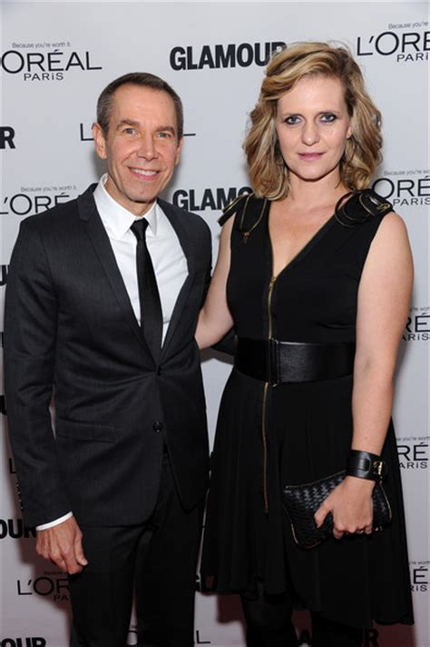 Jeff Koons Photos Photos - Stars at the Glamour Honors the