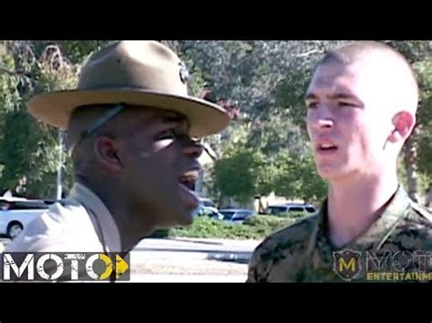 Marine Corps Drill Instructor: Recruit Getting ANNIHILATED