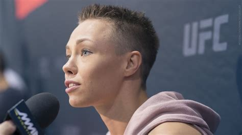 Rose Namajunas explains why Pat Barry won't be in her