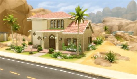 House 48 Oasis Springs at Via Sims » Sims 4 Updates