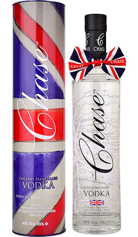 Chase English Handmade Vodka 70cl in Gift Tin